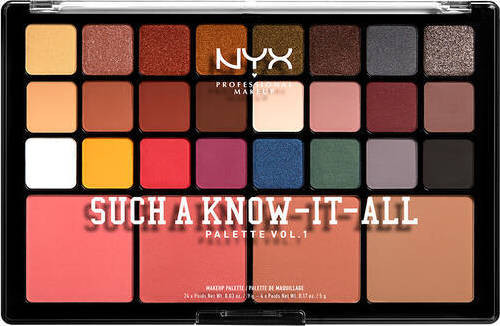 NYX Such A Know-It-All Palette Vol. I