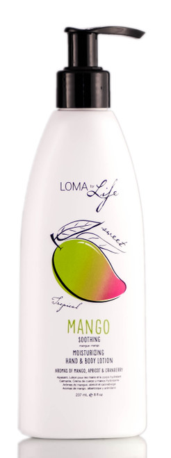 Loma For Life Mango Moisturizing Hand & Body Lotion