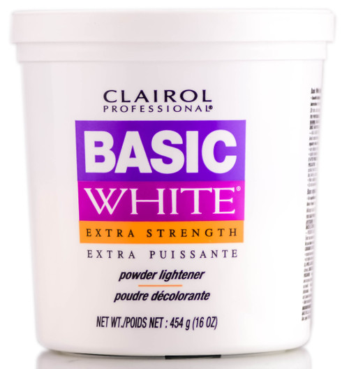 Clairol Professional Basic White Extra Strength Powder Lightener