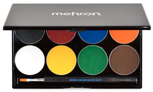 Mehron Paradise Makeup AQ - 8 Color Palette