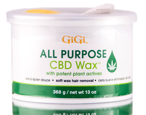 Gigi All Purpose Cbd Wax Soft Wax Hair Removal Sleekshop Com 13 Oz