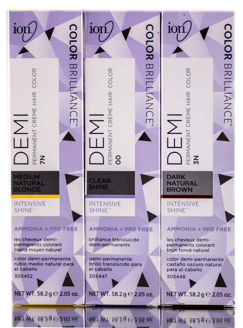 Ion Color Brilliance Demi Permanent Creme Hair Color - 2.05 oz