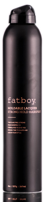 Fatboy Hair Moldable Lacquer Strong Hold Hairspray