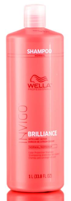 Wella Invigo Brilliance Color Protection Shampoo - NORMAL/FINE