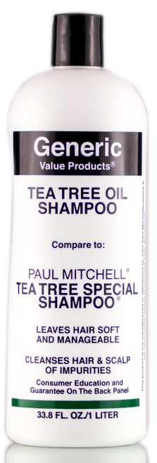 GVP Generic Value Products Tea Tree Oil Shampoo