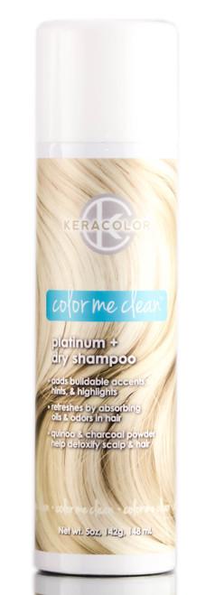 Keracolor Color Me Clean Platinum + Dry Shampoo