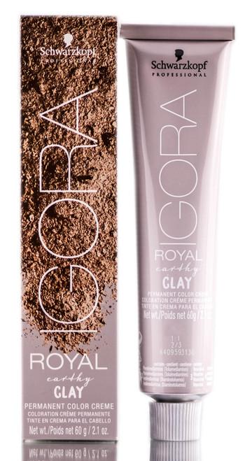 Schwarzkopf Igora Royal Earthy Clay Permanent Color Creme