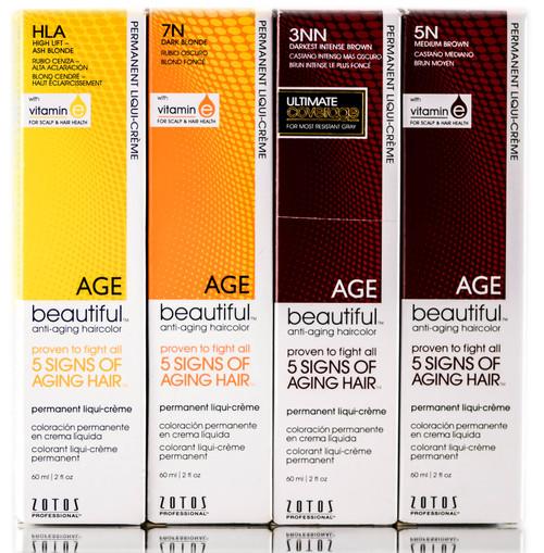 Zotos Pro Age Beautiful Permanent Liqui-Creme - 2 oz