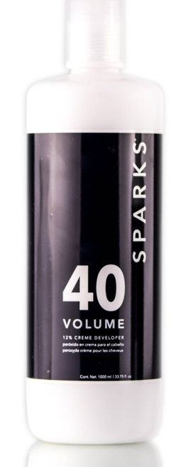 Sparks 40 Volume Developer Cream