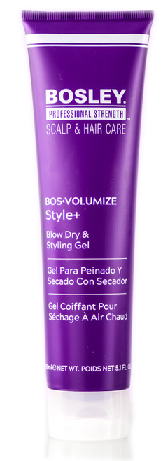 Bosley Professional Bos-Volumize Style+ Blow Dry & Styling Gel