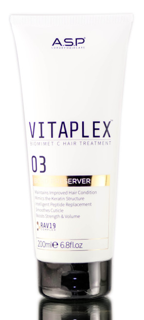Affinage ASP Luxury Vitaplex Biomimetic Hair Treatment 03 Bond Preserver