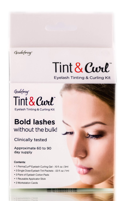 Godefroy Tint & Curl Eyelash Tinting & Curling Kit