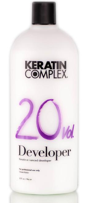 Keratin Complex 20 Volume / 6% Keratin-Enhanced Developer