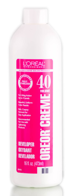 L'oreal Technique Developer Oreor Creme 40 Volume
