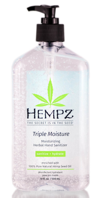 Hempz Triple Moisture Moisturizing Herbal Hand Sanitizer