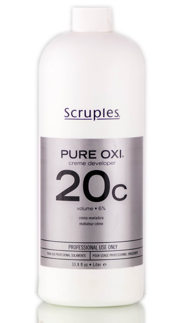 Scruples Pure OXI Creme Developer