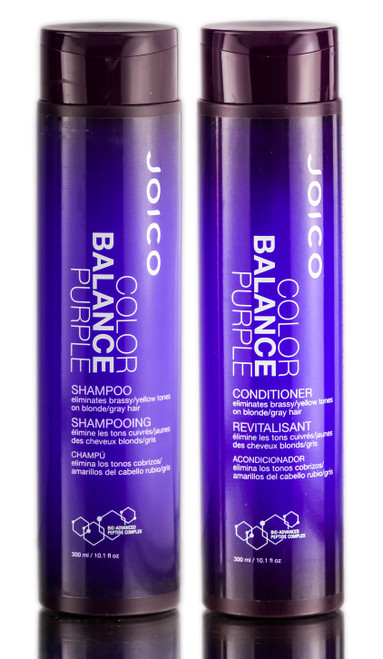 Joico Color Balance Purple Shampoo & Conditioner