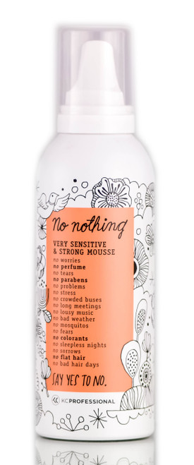 No Nothing Very Sensitive & Strong Mousse