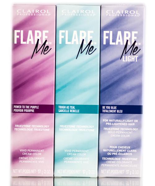 Clairol Flare Me Light Permanent Cream Hair Color