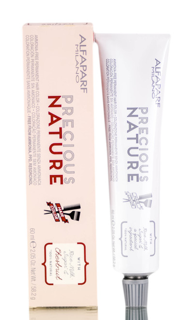 Alfaparf Precious Nature NATURALS, Ammonia-Free Permanent Cream Hair Color (2.05 oz)
