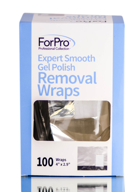 ForPro Professional Collection Expert Smooth Gel Polish Removal Wraps