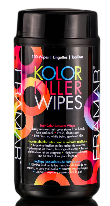 Framar Kolor Killer Wipes
