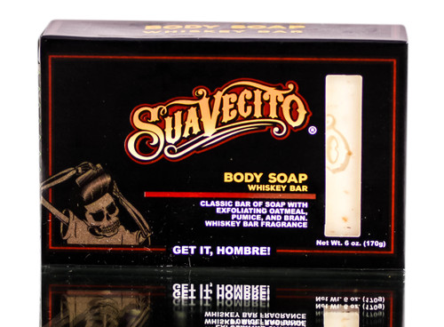 Suavecito Body Soap Whiskey Bar - 6 oz