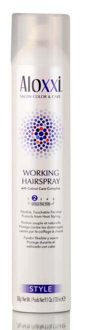 Aloxxi Style Working Hairspray 2 Hold Factor