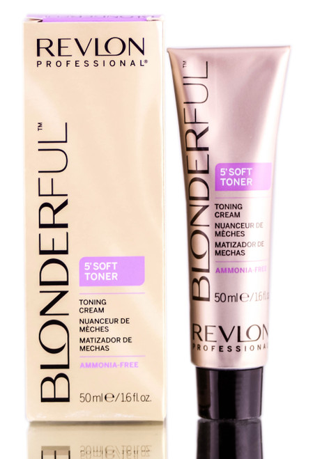 Revlon Blonderful 5' Soft Toner Toning Cream - 1.6 oz