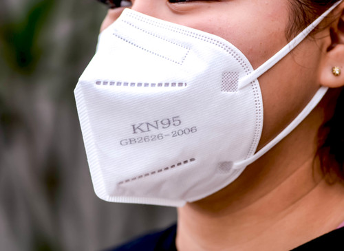 KN95 Standard Particulate High Efficiency Protective Face Mask