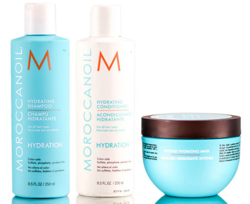 MoroccanOil Hydrating Shampoo & Conditioner & Mask