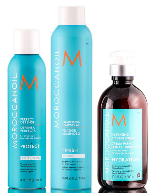 MoroccanOil Styling Set