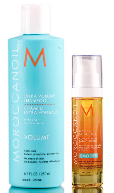 MoroccanOil Extra Vol Shampoo & Blow Dry Concentrate