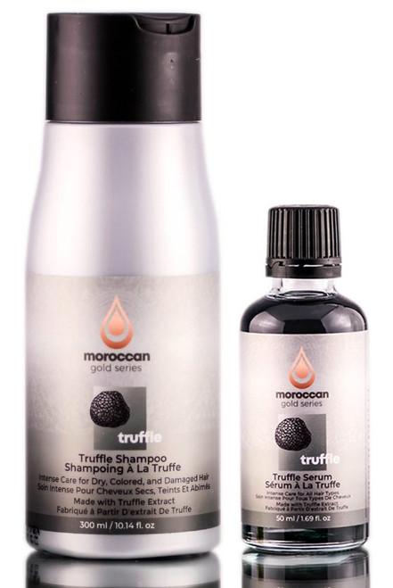 MoroccanOil Gold Series Truffle Shampoo & Serum
