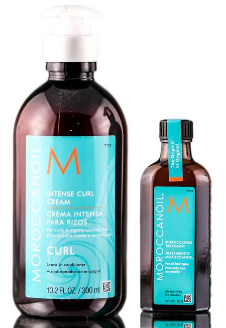 MoroccanOil Original Treatment & Intense Curl Cream