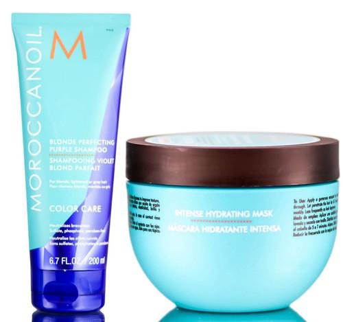 MoroccanOil Blonde Perfecting Shampoo & Hydrating Mask