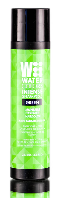 Tressa Watercolors Intense Green Shampoo