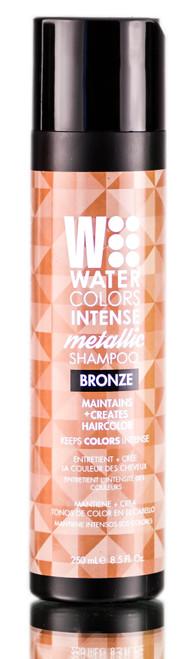 Tressa Watercolors Intense Metallic Bronze Shampoo