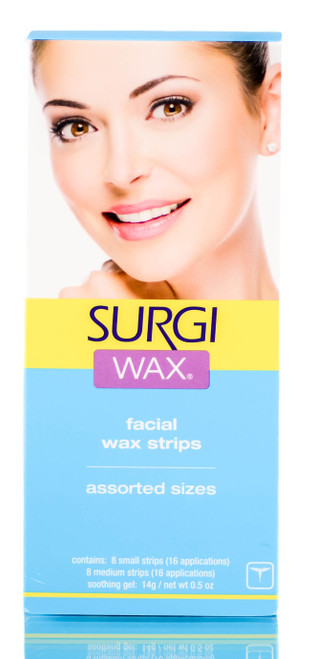 Surgi Wax Facial Wax Strips