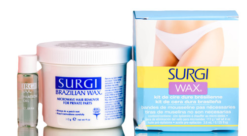 Surgi Wax Brazilian Hard Wax Kit