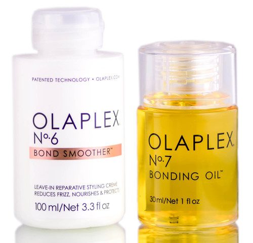 Olaplex Bonding Oil & Smoother Kit