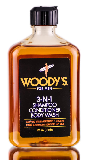 Woody's For Men 3-N-1 Shampoo, Conditioner & Body Wash