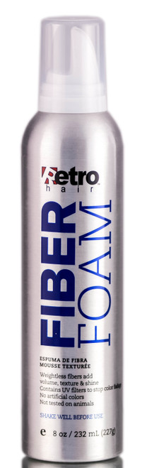 Retro Hair Fiber Foam Mousse