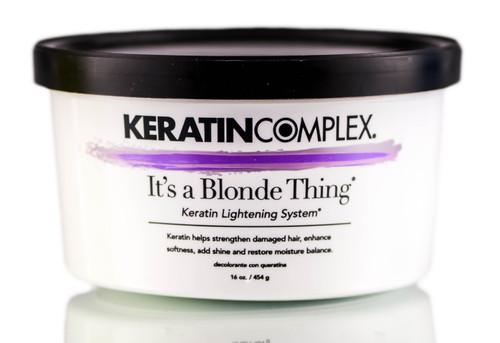Keratin Complex It's a Blonde Thing Keratin Lightening System
