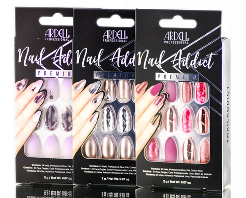 Ardell Nail Addict Premium Artificial Nail Set