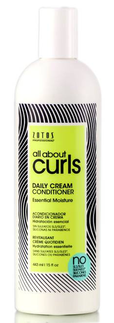 Zotos All About Curls Daily Cream Conditioner