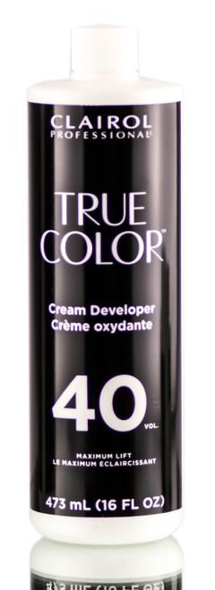 Clairol True Color 40 Vol Cream Developer Maximum Lift
