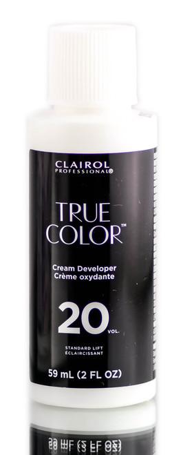 Clairol True Color 20 Vol Cream Developer Standard Lift