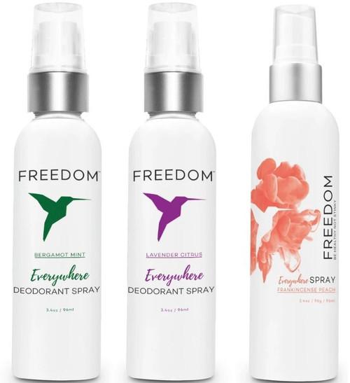 Freedom Everywhere Spray Deodorant (3.4 oz)