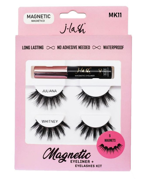 J Lash Magnetic Eyeliner & Lash Kit - Juliana & Whitney